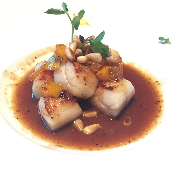 Citrus Seared Scallops